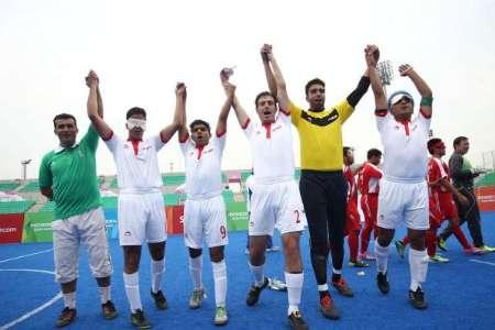 Iran Footballers Defeat Japan At Asian Para Games