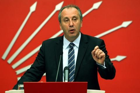 We would immediately establish diplomatic ties with Syria: Muharrem İnce