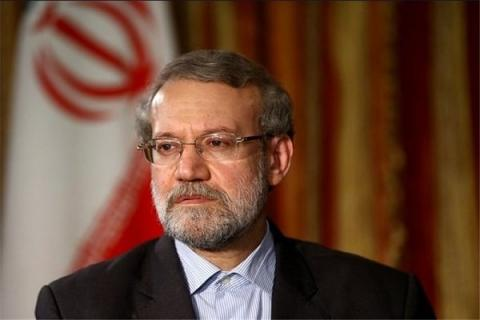 Iran's Parl. speaker condemns attempts to obliterate Palestinians in their lands