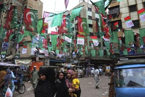 Pakistani election outcome, yet uncertain
