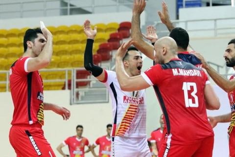Iran's rep. advances to semifinal of Asian Club Volleyball C'ships