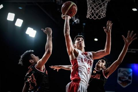 Iran starts FIBA U18 Asian C'ship with deserved victory