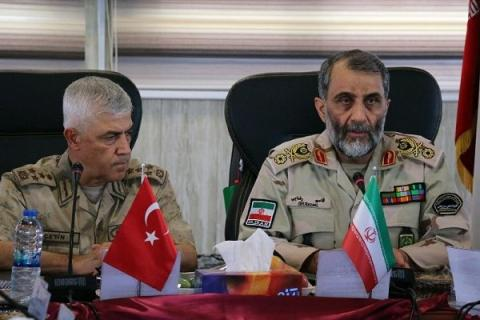 Turkish gendarmerie chief: Turkey ready to increase military coop. with Iran
