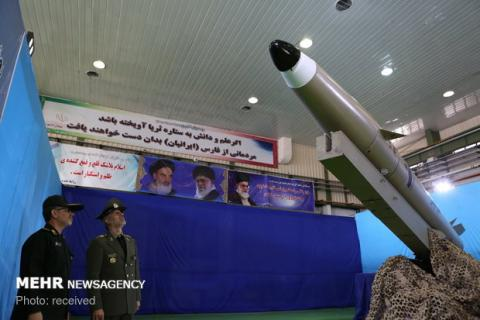 Iran unveils new generation of 'Fateh-e Mobin' missiles