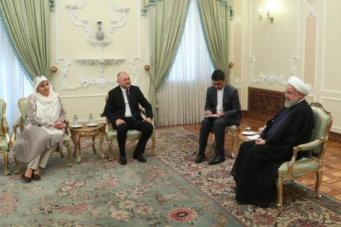 Pres. Rouhani: Interference in other states' domestic affairs 'unacceptable'