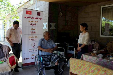 Qatar Charity donates 100 wheelchairs to Ministry of Social Development