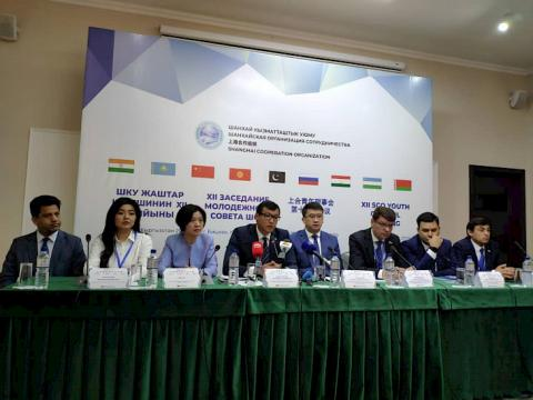 Meeting of SCO Youth Council kicks off in Bishkek