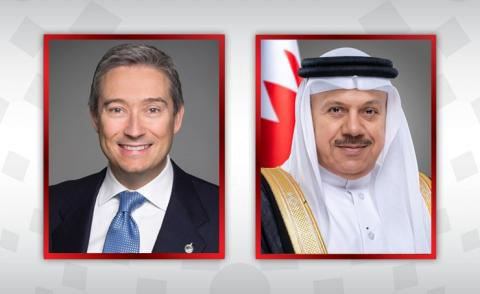 Foreign Minister receives phone call from Canadian counterpart