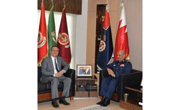 Public Security Chief receives Chinese ambassador