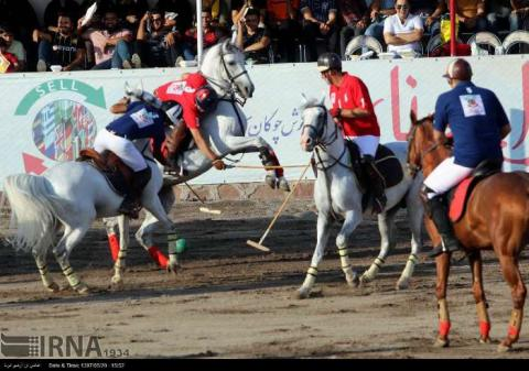 Polo competition in northwestern Iran