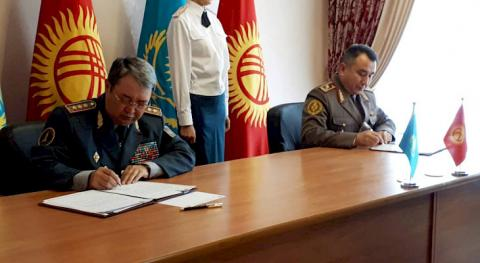 Kyrgyzstan and Kazakhstan strengthen military intelligence