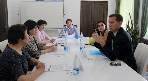 Head of Supreme Court of Kyrgyzstan and UNODC representatives discuss prospects for joint work