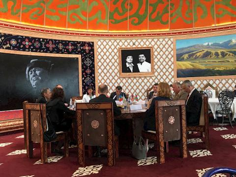 Ministry of Culture of Kyrgyzstan thanks CIS News Agencies for their support in covering III WNG