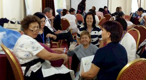 American doctors share their experience in saving women in labor with obstetricians of Kyrgyzstan