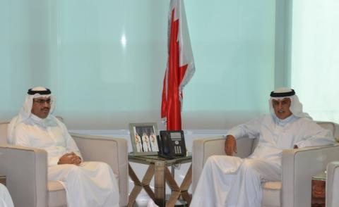 Industry Minister receives Bahraini ambassador to USA