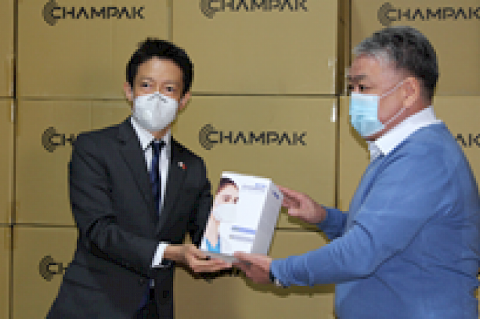 Japan donates to Kyrgyzstan respiratory masks worth over USD 115 thsd