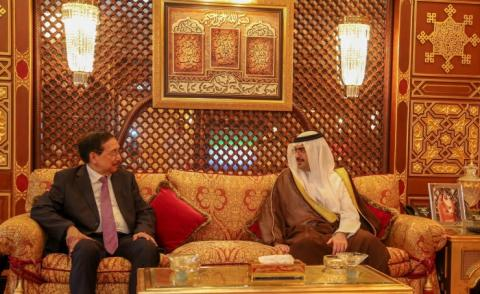 Southern Governor receives Philippine President's envoy