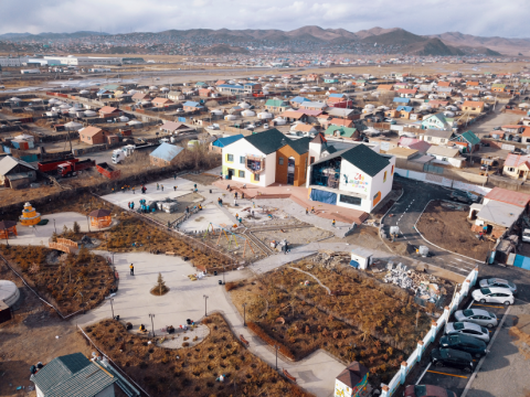 Capital city governor gives financial support to 'Magic Mongolia' Center