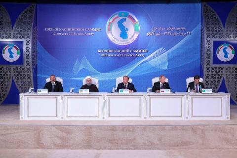 Some 90% of Caspian Sea legal regime convention finalized