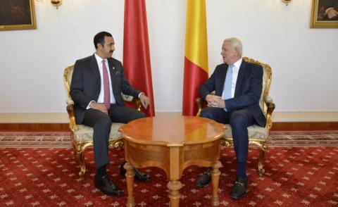 Romanian Foreign Minister receives International Affairs Undersecretary