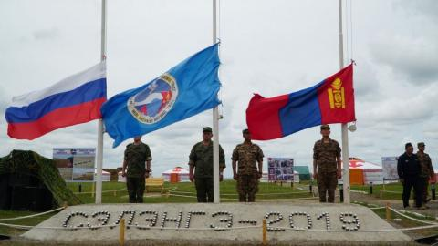 Mongolian-Russian joint military drill launches