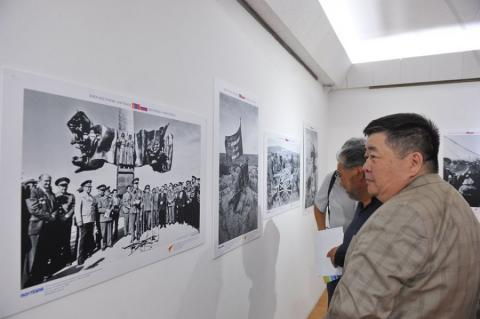 """""""Two nations – One victory"""" photo exhibition on Khalkhiin Gol Battles opens"""