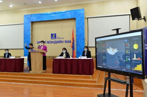 Ministry of Health gives latest update on coronavirus situation in Mongolia