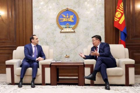 World Bank policy recommendations on Mongolia discussed with Parliament Speaker