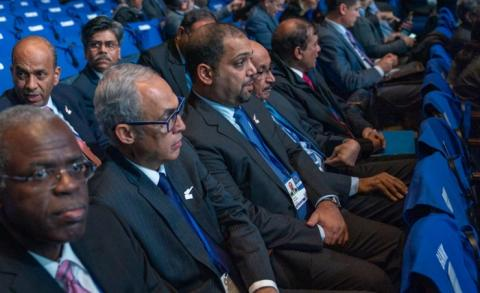 HE the Minister of Finance and National Economy participates in the opening session of the Annual Meetings of the Boards of Governors of World Bank Group and the International Monetary Fund