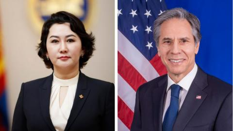 Foreign Minister speaks with United States Secretary of State