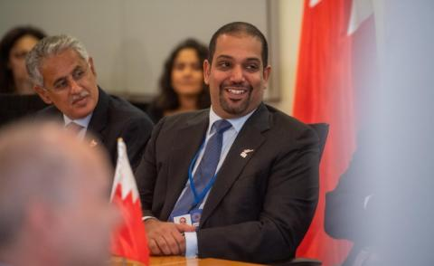Bahrain highlights sustainable growth and gender balance