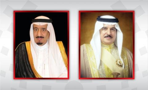 HM King holds phone call with Saudi Monarch