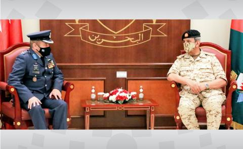 Commander-in-Chief receives Jordanian military attaché