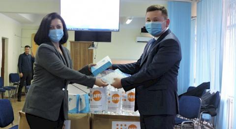 Int'l organizations provide Kyrgyzstan's Statistics Committee with PPE for census