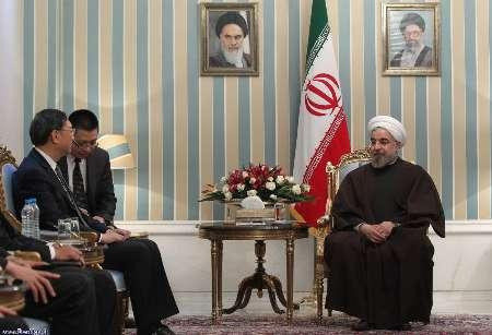 President Rouhani Stresses Iran's Right To Peaceful Nuclear Program