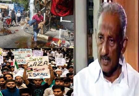 Indian Min. Flays Israelˈs ˈBrutalityˈ On Palestine, Protests Continue: Report