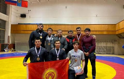 Kyrgyzstan earns 11 medals at tournament in Russia