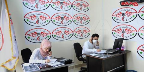 Hotlines and one thousand doctors within Damascus doctors initiative for tackling coronavirus