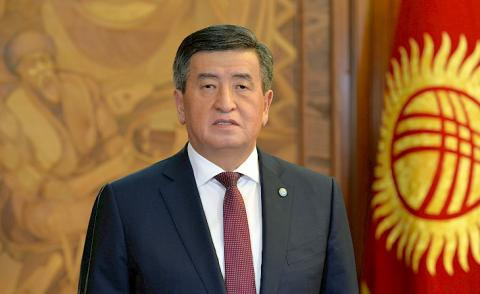 Jeenbekov: Our Army is reliable support of state in ensuring sovereignty