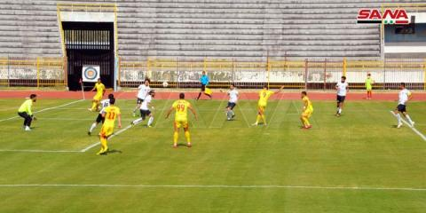 Tishreen maintains lead as Syrian Premiere League matches are resumed