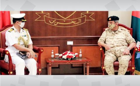 Commander-in-Chief receives Indian military attaché