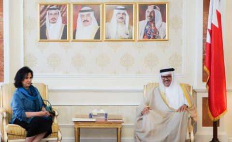 Foreign Minister receives BACA President