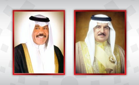 HM King thanked by Amir of Kuwait
