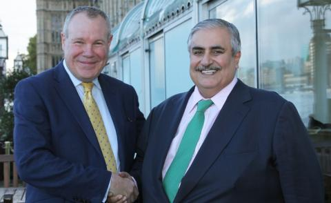 Foreign Minister meets UK Minister