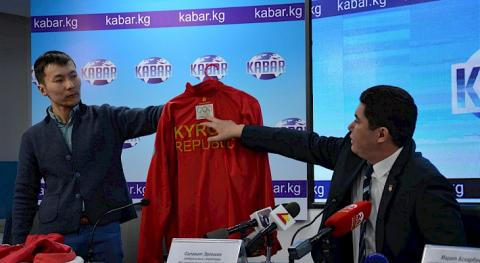Parade uniform of Kyrgyzstan's national team for Tokyo 2020 to be sewed by domestic company