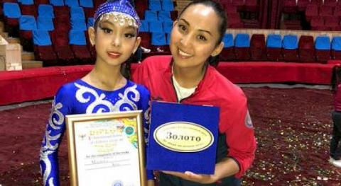 Young Kyrgyzstani earns gold at Int'l Youth Circus Art Festival in Tashkent