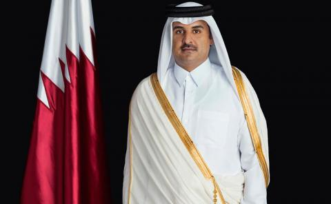 HH the Amir Receives Written Message from Prime Minister of Malaysia
