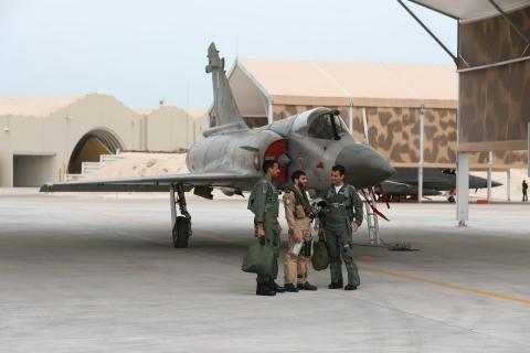 Amiri Air Force Carries Out Zelzal 1 Exercise with its Pakistani Counterpart