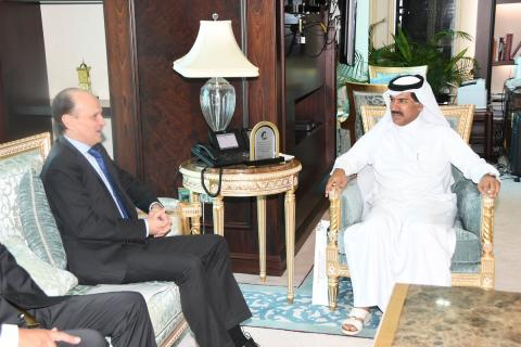 Secretary-General of the Ministry of Foreign Affairs Meets Undersecretary for Foreign Policy at the Argentine Foreign Ministry