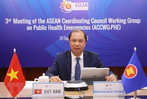 ASEAN cooperation in COVID-19 fight reviewed
